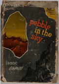 Books:Science Fiction & Fantasy, Isaac Asimov. SIGNED. Pebble In the Sky. Doubleday, 1950. First edition, first printing. Signed by the author. P...