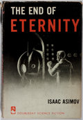 Books:Science Fiction & Fantasy, Isaac Asimov. SIGNED. The End of Eternity. Doubleday, 1955.First edition, first printing. Signed by the author. ...