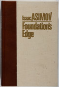 Books:Science Fiction & Fantasy, Isaac Asimov. SIGNED/LIMITED. Foundation's Edge. Whispers, 1982. First edition, first printing. Limited to 100...