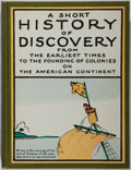 Books:Children's Books, Hendrik Willem van Loon. A Short History of Discovery.McKay, 1917. Mild rubbing to cloth with a slight spine le...