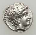 Ancients:Greek, Ancients: MACEDON. Chalcidian League. Ca. 382-379 BC. AR tetrobol(2.36 gm)....