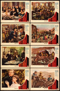 """Movie Posters:Western, Wells Fargo (Paramount, 1937). Lobby Card Set of 8 (11"""" X 14"""").. ... (Total: 8 Items)"""