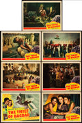 "Movie Posters:Fantasy, The Thief of Bagdad (United Artists, 1940). Title Lobby Card andLobby Cards (6) (11"" X 14"").. ... (Total: 7 Items)"