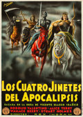 """Movie Posters:Drama, The Four Horsemen of the Apocalypse (MGM, R-1925). Spanish OneSheet (27.25"""" X 39"""").. ..."""