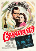 "Movie Posters:Academy Award Winners, Casablanca (CB Films, R-1965). Spanish One Sheet (27.5"" X 39.25"").. ..."