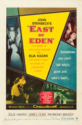 """Movie Posters:Drama, East of Eden (Warner Brothers, 1955). One Sheet (27"""" X 41""""). From the Leonard and Alice Maltin Collection.. ..."""