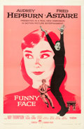 "Movie Posters:Romance, Funny Face (Paramount, 1957). One Sheet (27"" X 41""). From theLeonard and Alice Maltin Collection.. ..."
