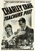 "Movie Posters:Comedy, Teacher's Pest (Columbia, 1939). One Sheet (27"" X 41""). From the Leonard and Alice Maltin Collection.. ..."