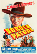 "Movie Posters:Western, Border Patrol (United Artists, 1943). One Sheet (27"" X 41"").. ..."