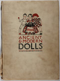 Books:Children's Books, Gwen White. A Picture Book of Ancient & Modern Dolls.Black, 1928. A worn copy with splitting cloth and broken hinge...