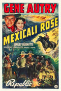 """Movie Posters:Western, Mexicali Rose (Republic, 1939). One Sheet (27"""" X 41"""").. ..."""