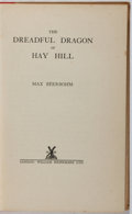 Books:Children's Books, Max Beerbohm. The Dreadful Dragon of Hay Hill. Heinemann,[n. d.]. Rubbing and toning to boards with sunning to quar...