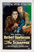 """Movie Posters:Drama, The Scrapper (Universal Film Manufacturing, 1922). One Sheet (27"""" X 41"""").. ..."""