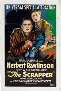 "The Scrapper (Universal Film Manufacturing, 1922). One Sheet (27"" X 41"")"