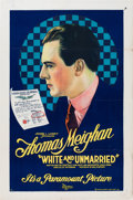 "Movie Posters:Comedy, White and Unmarried (Paramount, 1921). One Sheet (27"" X 41"") Style B.. ..."