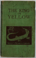 Books:Horror & Supernatural, Robert W. Chambers. The King In Yellow. Tennyson Neely,1895. First edition, first printing. Rubbing and soiling...