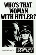 """Movie Posters:Exploitation, Ilsa, She Wolf of the SS (Cinepix, 1974). Canadian One Sheet (25.5""""X 39"""") Withdrawn Advance.. ..."""