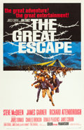 """Movie Posters:War, The Great Escape (United Artists, 1963). One Sheet (27"""" X 41"""")....."""