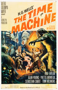 """Movie Posters:Science Fiction, The Time Machine (MGM, 1960). One Sheet (27"""" X 41"""").. ..."""