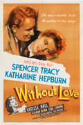 "Movie Posters:Romance, Without Love (MGM, 1945). One Sheet (27"" X 41"").. ..."