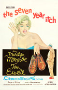 "Movie Posters:Comedy, The Seven Year Itch (20th Century Fox, 1955). One Sheet (27"" X41"").. ..."