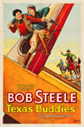 "Movie Posters:Western, Texas Buddies (WorldWide Pictures, 1932). One Sheet (27.25"" X41"").. ..."