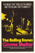 "Movie Posters:Rock and Roll, Gimme Shelter (20th Century Fox, 1970). One Sheet (27"" X 41"").. ..."