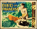 "Movie Posters:Adventure, Bird of Paradise (RKO, 1932). Title Lobby Card (11"" X 14"").. ..."