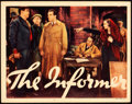 "Movie Posters:Drama, The Informer (RKO, 1935). Lobby Card (11"" X 14"").. ..."