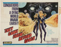 Memorabilia:Poster, They Came From Beyond Space Movie Poster (Embassy Pictures,1967)....
