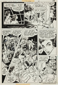 Jose Delbo and Vince Colletta Wonder Woman #246 Page Original Art Group (DC, 1978). ... (Total: 8 )