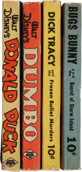 Big Little Book:Miscellaneous, Big Little Book #8-10 and 13 Fast-Action Stories Group (Whitman,1941-44) Condition: Average FN.... (Total: 4 Items)