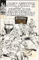 Dick Ayers and John Tartaglione Sgt. Fury and His Howling Commandos #34 Cover Original Art (Marvel, 1966)