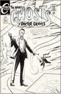 Original Comic Art:Covers, Rocco Mastroserio The Many Ghosts of Doctor Graves #7 CoverOriginal Art Group (Charlton, 1968)....