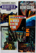 Books:Science Fiction & Fantasy, [Jerry Weist]. Frederik Pohl. Group of Five Signed or Inscribed First Edition Books. Del Rey, 1985-1992. Near fine.... (Total: 5 Items)