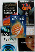 Books:Science Fiction & Fantasy, [Jerry Weist]. Stephen Baxter. Group of Five Signed or Inscribed First Edition Books. Various, 1992-2004. Mayflower II... (Total: 5 Items)