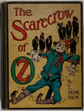Books:Children's Books, L. Frank Baum. The Scarecrow of Oz. Reilly & Lee, 1915.Later impression. Rubbing and toning to boards with a leanin...
