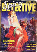 Pulps:Detective, Spicy Detective Stories - June '34 (Culture, 1934) Condition: VG....
