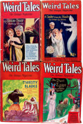 Pulps:Horror, Weird Tales Group (Popular Fiction, 1927-37) Condition: AverageVG.... (Total: 14 Comic Books)