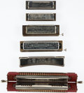 Musical Instruments:Horns & Wind Instruments, Vintage Hohner Harmonica Lot of 6....