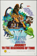 "Movie Posters:Adventure, Journey to the Beginning of Time (New Trends, 1966). One Sheet (27""X 41""). Adventure.. ..."