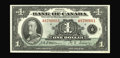 Canadian Currency: , BC-1 $1 1935.. Embossing is strong on this English language Choice Crisp Uncirculated example....