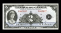 Canadian Currency: , BC-4 $2 1935. A very attractive French Text $2 which appears farnicer than its technical grade would indicate. Extremely ...