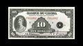 Canadian Currency: , BC-8 $10 1935.. This French $10 lightly circulated before being setaside. Extremely Fine....
