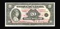 Canadian Currency: , BC-10 $20 1935. A high grade French Text $20 which has retained its bright colors despite a modicum of circulation. Very F...