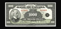 Canadian Currency: , BC-19 $1000 1935. A second high grade English Text thousand from the Halton Lake collection. About Uncirculated.. From...