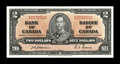 Canadian Currency: , BC-22a $2 1937.. Dark inks and wide margins on this Choice CrispUncirculated $2 from the scarcer Osborne-Towers signatu...
