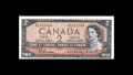 Canadian Currency: , BC-38cT $2 1954.. The S/R prefix was used for experimental testnotes. About Uncirculated.. From The Collection of Ric...