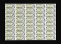 Canadian Currency: , $1 1973 Uncut Sheets of 40. Ten Examples. About Uncirculated.. Thefollowing $1 1973 sheets are included in this lot BC-46b ...(Total: 10 sheets)