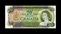 Canadian Currency: , BC-50aA $20 1969.. Embossing is a merit of this well preservedscarce asterisk replacement note with EH prefix letters..F...